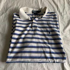 Ralph Lauren Size XL Golf Fit Striped 100% Pima